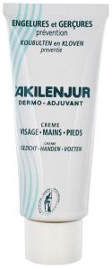 Akilenjur crème visage mains et pieds 75 ml de akileine