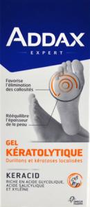 Addax pieds callos