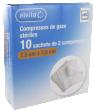 Alvita compresse non tissé stérile sachets  7,5cmx7